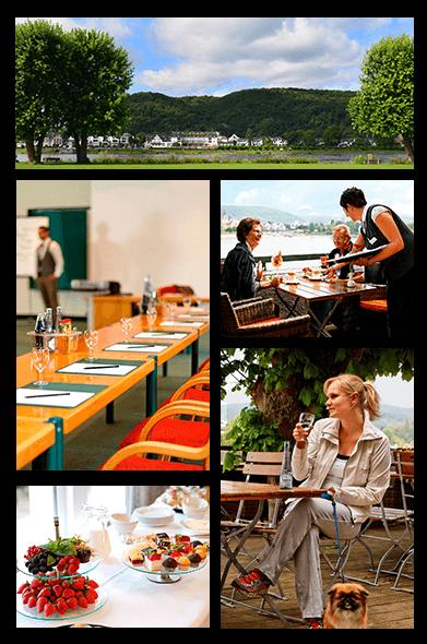 Rheinhotel Vier Jahreszeiten - Collage